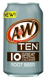 A & W Root Beer TEN (355ml)