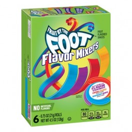 Betty Crocker Fruit by the Foot Flavor Mixers Variety Pack (128g)