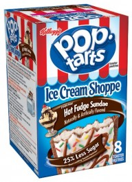 Kellogg's PopTarts Frosted Hot Fudge Sundae