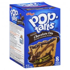 Kellogg's PopTarts Frosted Chocolate Chip (416g)