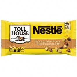 Nestle Toll House Peanut Butter & Milk Chocolate Morsels (311g)
