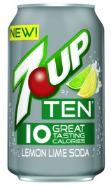 7UP Ten Lemon Lime Soda (355ml)