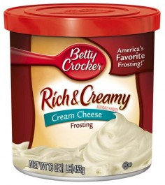 Betty Crocker Rich & Creamy Cream Cheese Frosting