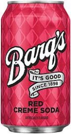 Barq's Red Creme Soda (355ml)