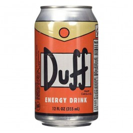 Duff Energy Drink, Orange flavor (355ml)