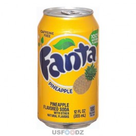 Fanta Pineapple (355ml) USfoodz