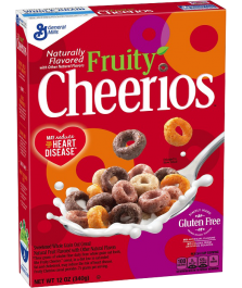 Cheerios Fruity (340g) BEST BY 16-02-2019