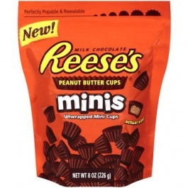 Reese's Minis Unwrapped Peanut Butter Cups (226g)