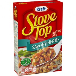 Stove Top Stuffing Mix, Savory Herbs (170g) (BEST BY 30-08-2019)