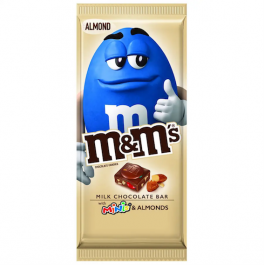 M&M's Minis Chocolate Bar, Almonds (107g)
