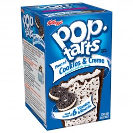 Kellogg's PopTarts Frosted Cookies & Creme (400g)