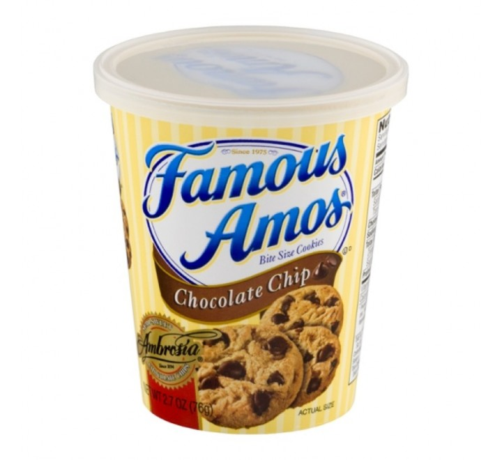 Famous Amos, Chocolate Chip Cookies Cup (76g)