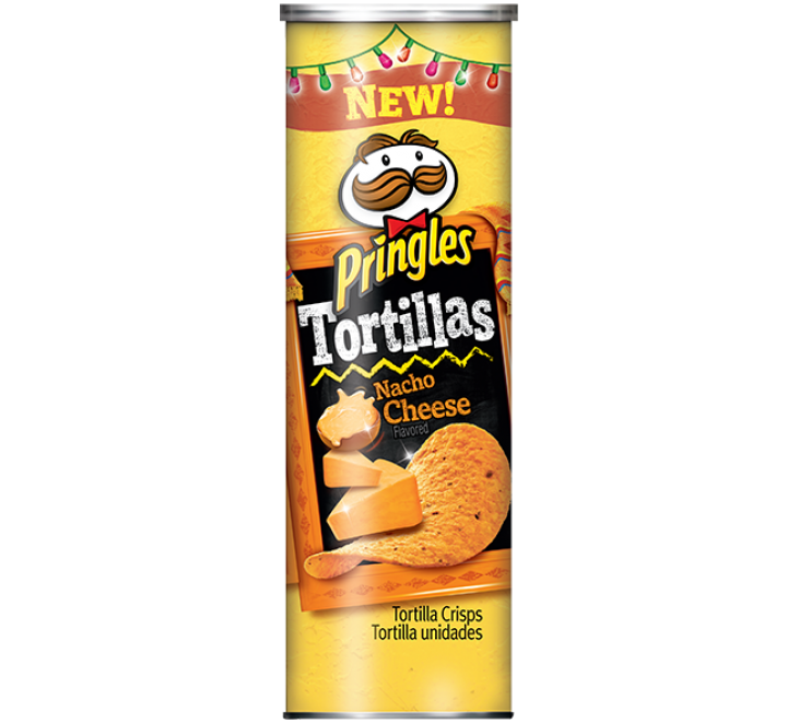 Pringles Tortillas Nacho Cheese