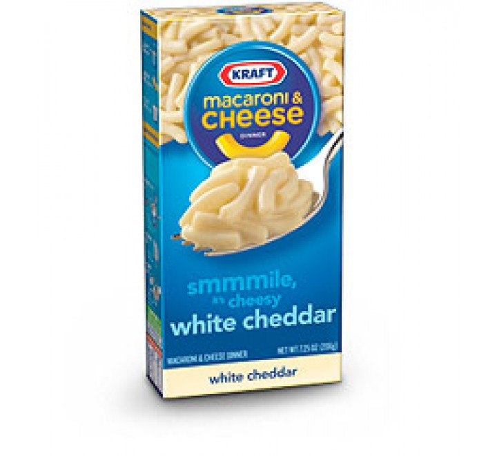 Kraft Macaroni & Cheese, White Cheddar (206g)