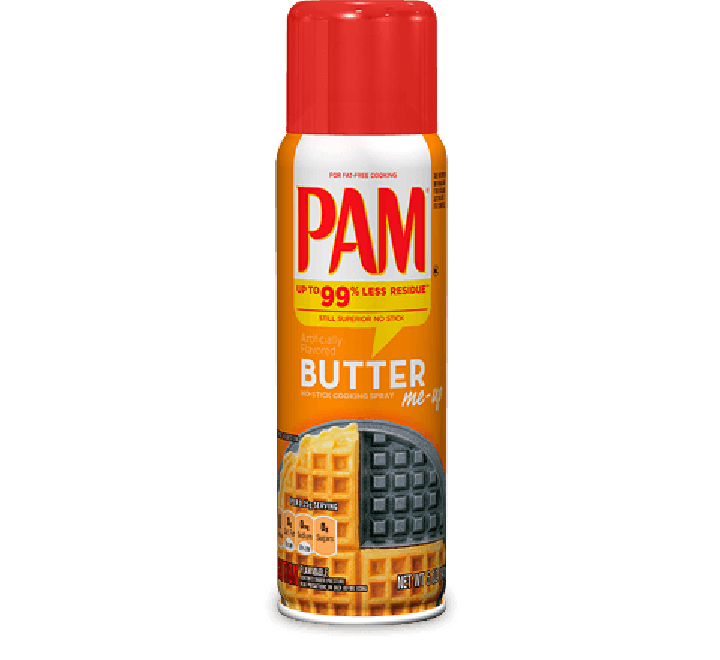 Pam Butter Cooking Spray (141g)