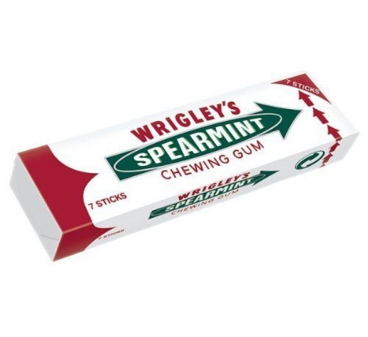 Wrigley's Spearmint Chewing Gum (18g)