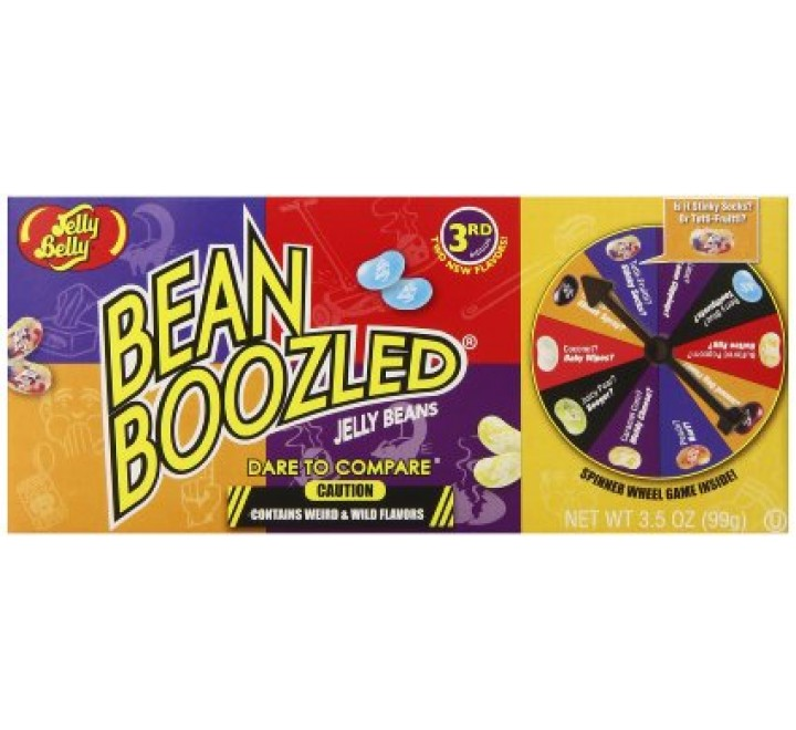 Jelly Belly Bean Boozled Spinner Box (99g) (Best-By 15-MAY-2018)