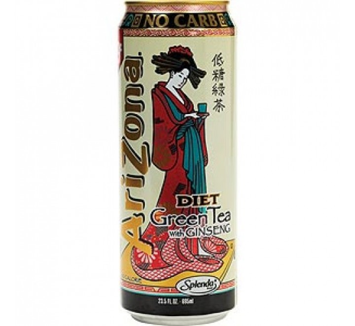 Arizona Diet Green Tea with Ginseng (680ml)