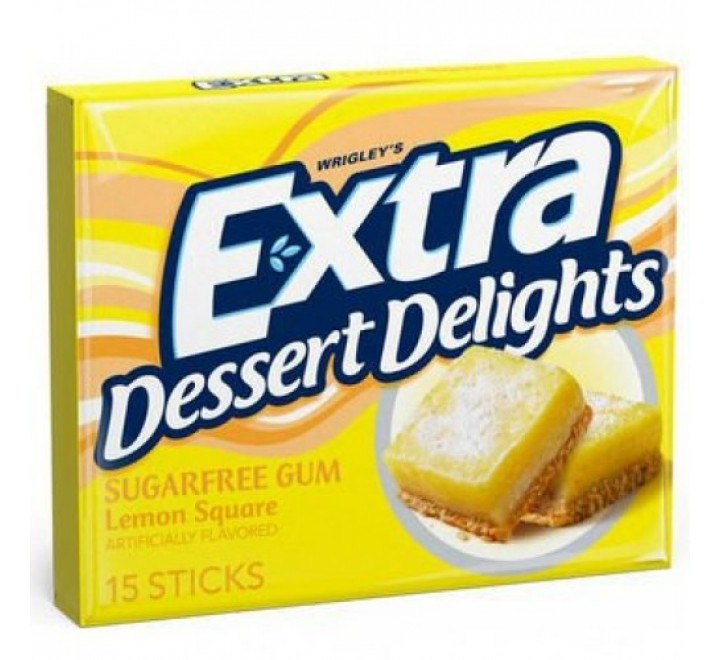 Extra Dessert Delights Lemon Square