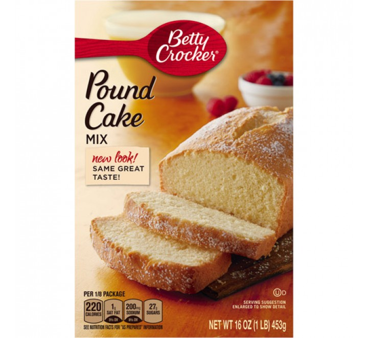 Betty Crocker Pound Cake Mix (453g)