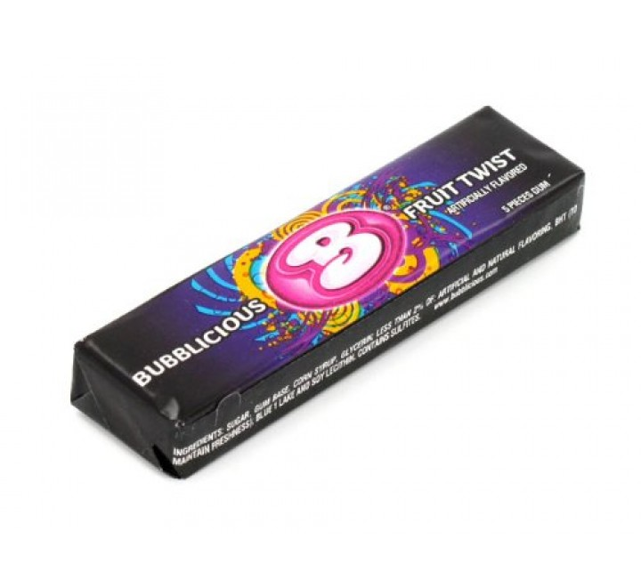 Bubblicious Fruit Twist Gum