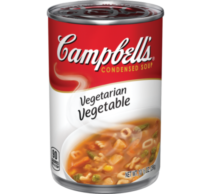 Campbell's Vegetarian Vegetable Soup (298g)