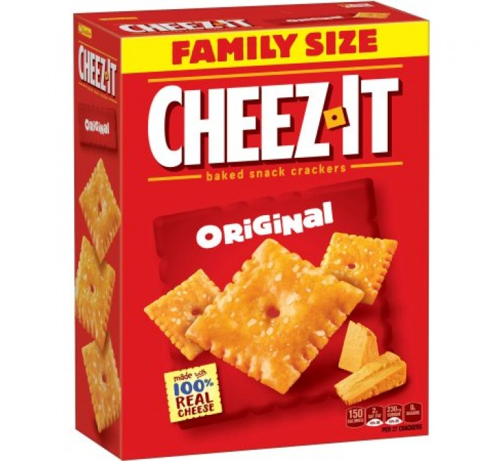 Cheez-It Baked Snack Crackers Original (198g)