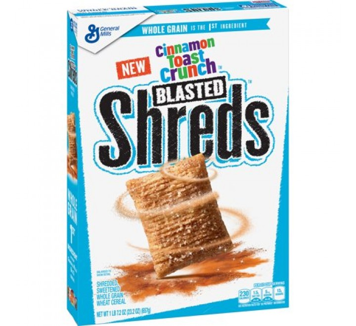 Cinnamon Toast Crunch Blasted Shreds Breakfast Cereal (657g)