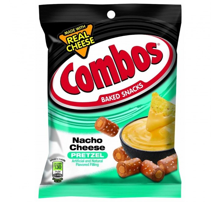 Combos Baked Snacks Nacho Cheese Pretzel  (178g)