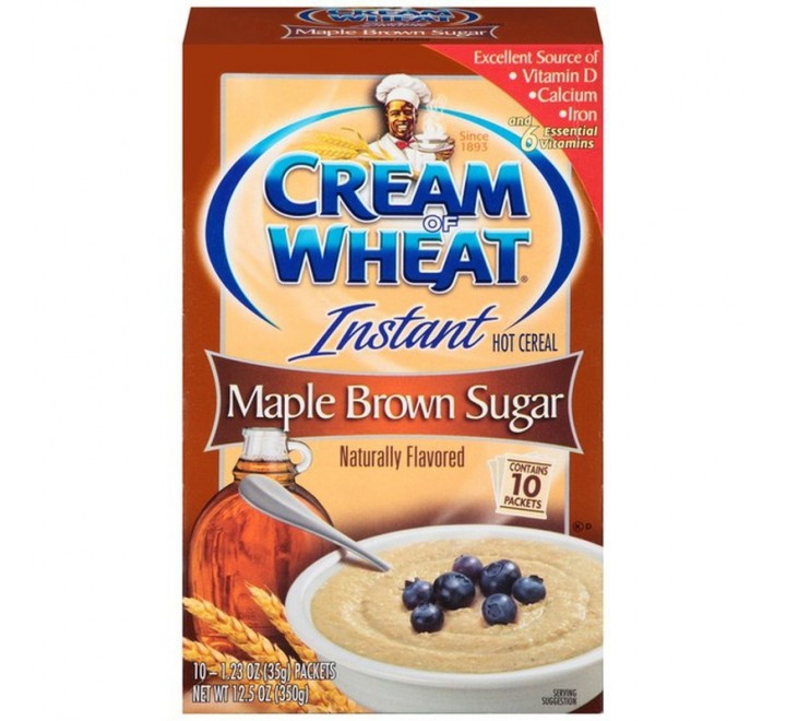 Cream Of Wheat Instant Hot Cereal, Bananas & Cream (10-Packets) (350g)