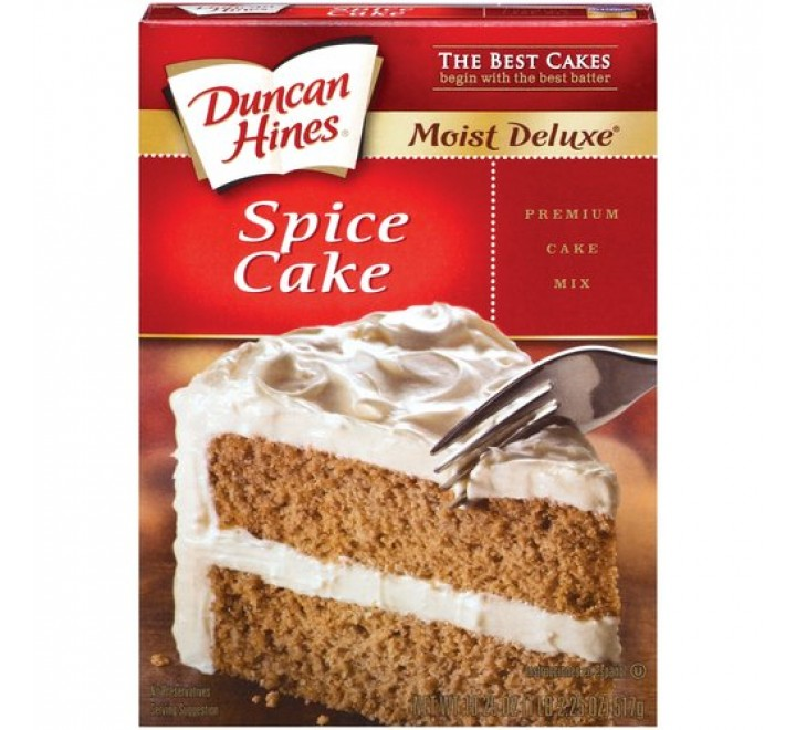 Duncan Hines Spice Cake