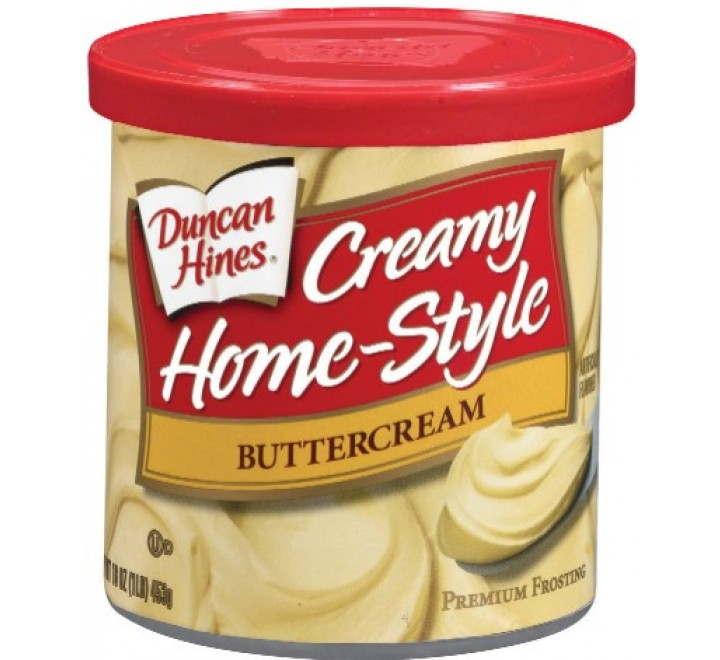 Duncan Hines Creamy Home-Style Buttercream Frosting (454g)