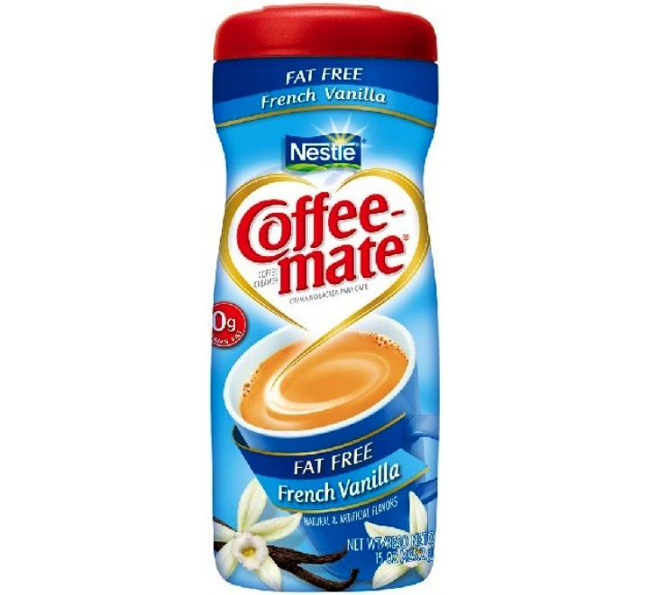 Coffee-Mate French Vanilla Fat Free (425g)