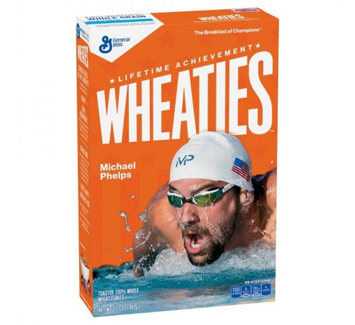General Mills Cereals Wheaties, The Breakfast of Champions (442g)