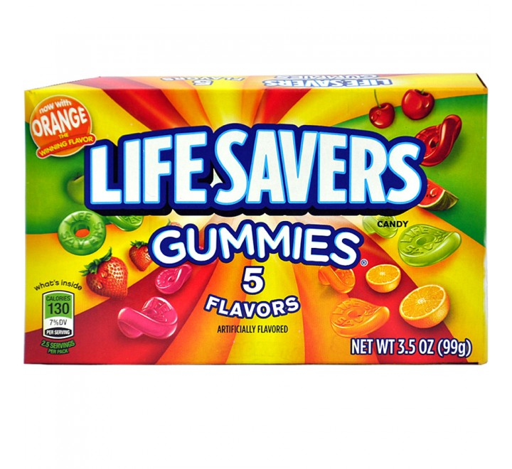 LifeSavers Gummies Five Flavors (99g)