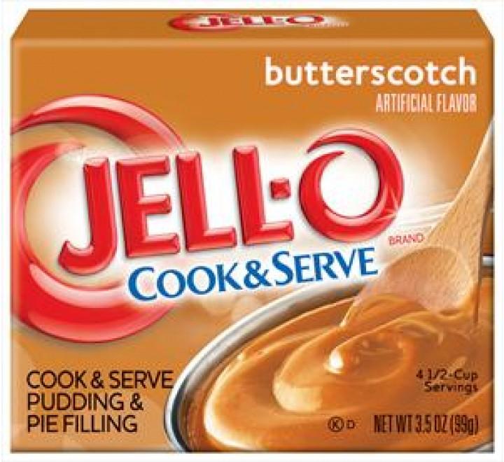 Jell-O Cook & Serve Butterscotch Pudding & Pie Filling