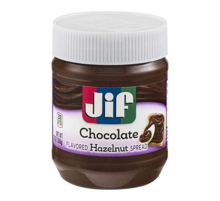 JIF Chocolate Flavored Hazelnut Spread (368g)