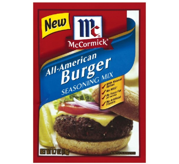 McCormick All American Burger Seasoning Mix (19g)