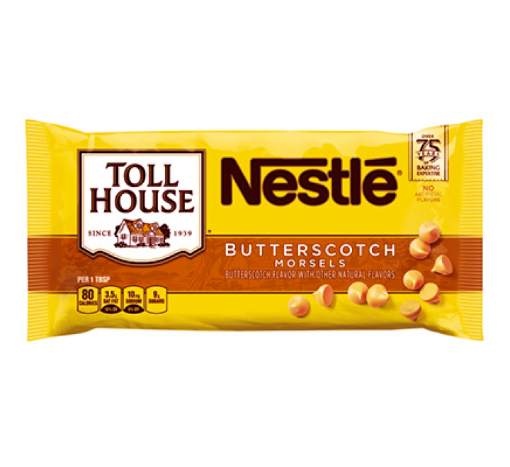 Nestlé Toll House Butterscotch Chocolate Morsels (312g)