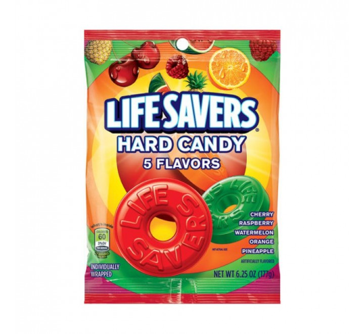 LifeSavers Hard Candy 5 Flavors (177g)