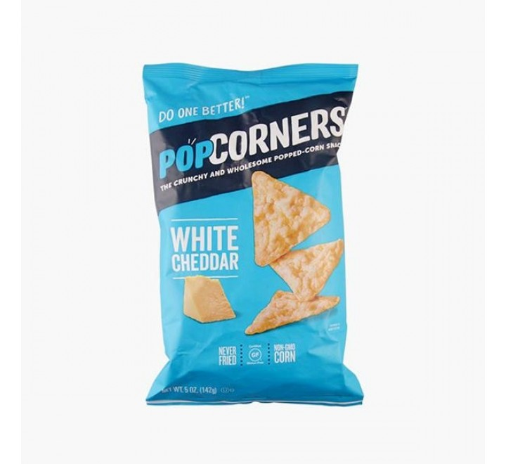 Popcorners White Cheddar Corn Chips (198g)