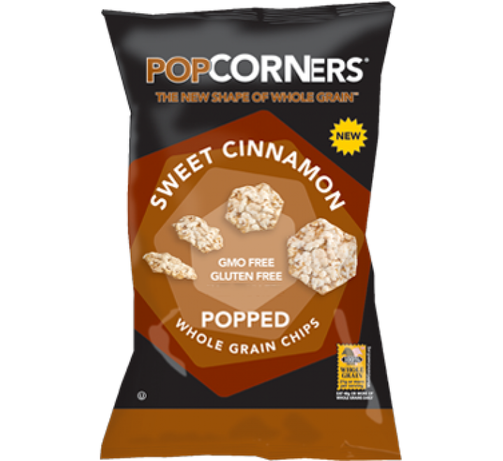 Popcorners Sweet Cinnamon Popped Whole Grain Chips (28g)