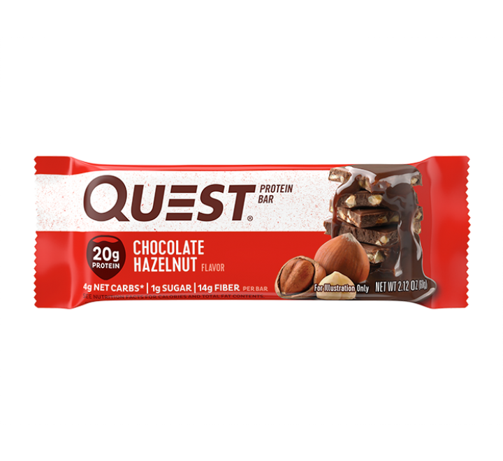 Quest Protein Bar, Chocolate Hazelnut (60g)