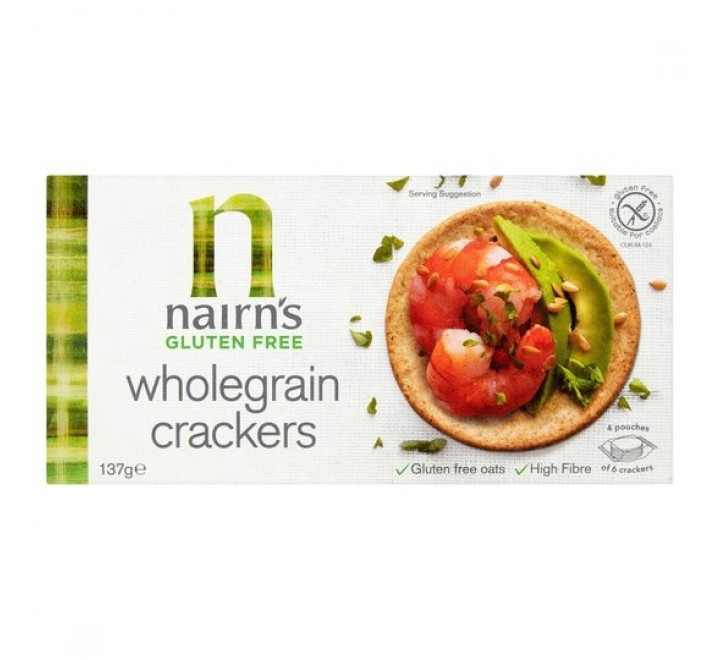 Nairn's Gluten Free Wholegrain Crackers (137g) (BEST-BY: 18-09-2020)
