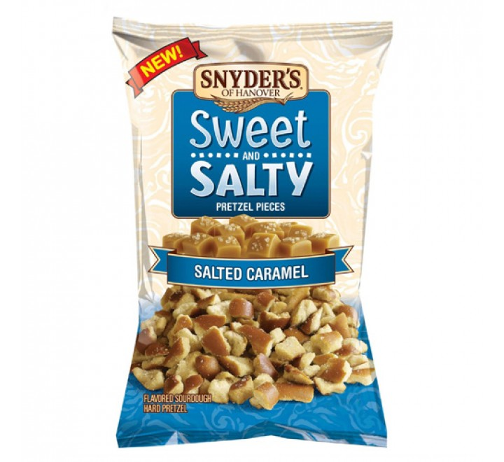 Snyder's Salted Caramel Sweet and Salty Pretzel Pieces (100g)