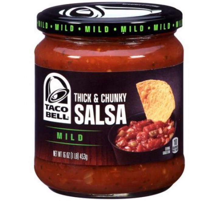 Taco Bell Thick & Chunky Mild Salsa (453g)