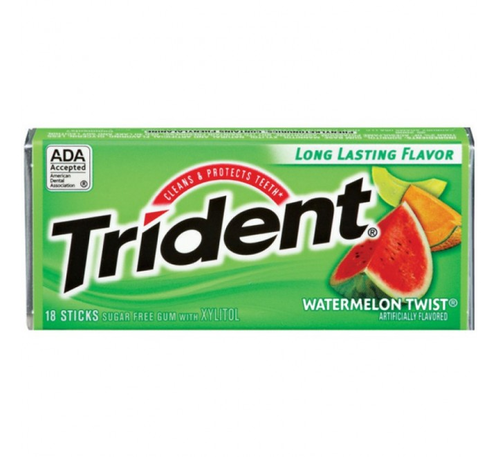 Trident Watermelon Twist (BEST BEFORE 02-09-2017)