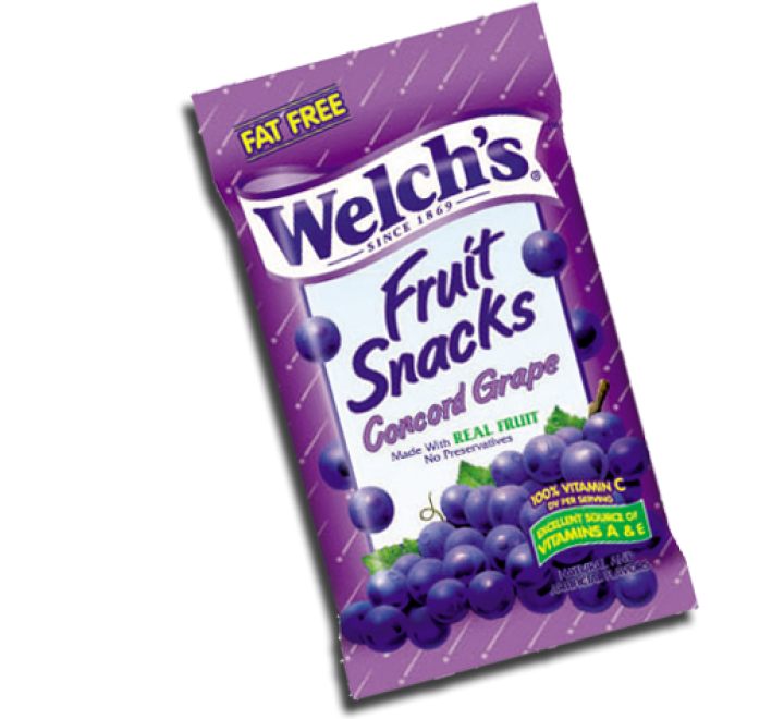 Welch's Fruit Snacks Concord Grape (142g)
