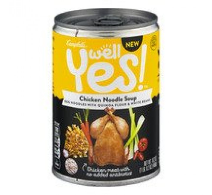 Campbell's Well Yes! Chicken Noodle Soup (458g)