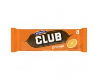 Mcvitie's Club Orange Chocolate Biscuit (176g) (BEST-BY DATE: 06-01-21)